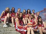 Die siegreichen Basketballerinnen