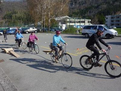 Ein voller Erfolg war die Rad-Fahrschule für Senioren bei den heurigen Senioren-Aktiv-Tagen.