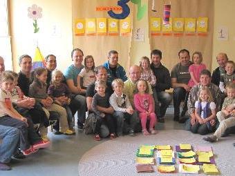 Einen gemeinsamen Nachmittag verbrachten die Väter aus Sonntag mit ihren Kindern im Kindergarten.