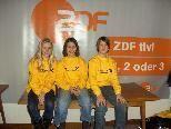 """Franziska Hehle, Carina Rädler und Aaron Scheil siegten bei """"1, 2 oder 3""""."""