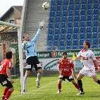 Goalie Martin Bischof musste drei Gegentreffer hinnehmen.