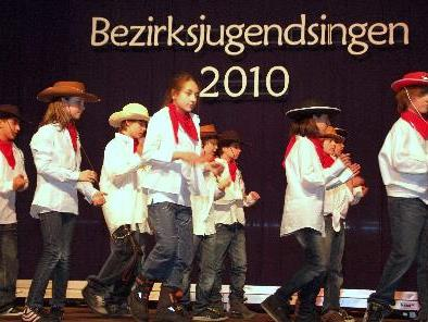 Heilpädagogisches Zentrum war mit dabei beim Bezirksjugendsingen.