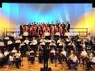 Hörgenuss: Feine Blasmusik und Gesang boten einen wunderbaren Konzertabend.