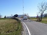 Im Bereich Senderbrücke kommt es öfters zu gefährlichen Situationen zwischen Rad- und Autofahrern.