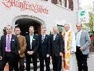 Josef Mager, Kurt Rupfle, Pino Scutaro, Dir. Robert Sturn, Dir. Dr. Daniel Wiesner, Pfarrer Gerhard Mähr, Bgm. Xaver Sinz.
