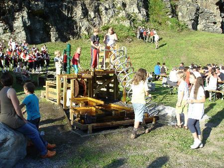 Klettergarten wird kommendes Wochenende gereinigt