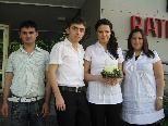 Memnuniye Yörüko und Musa Sükün feierten Hochzeit