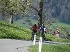Mit dem Schönwetter nimmt auch der Radverkehr deutlich zu