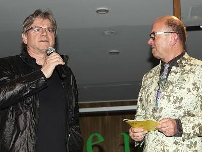 Tone Schneider und Heinz Wendl im Gespräch
