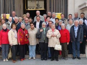 Viel Spaß hatten die Nenzinger Pensionisten in Oberösterreich.