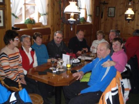 Viel Vergnügen hatten die Senioren vergangenen Winter aus St. Gallenkirch.