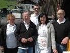 Waren um das leibliche Wohl der Besucher bemüht: v.l.Johanna Kolar, Sigi Fleischmann, Martin Herburger, Doris Gstöhl & Sigi Türtscher