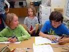 An drei Vormittagen durften die zukünftigen Erstklässler in die Klassen hineinschnuppern.