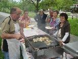 Augusto Clerici verwöhnte die Besucher mit saftigen Filets