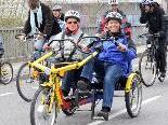 Beim Abendmarkt am Samstag, 8. Mai, steht das Elektro-Doppelrad ,,Twister'' für Probefahrten zur Verfügung.