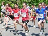 Beim Emser Sparkassen-Stadtlauf 2009 starteten über 400 Teilnehmer.