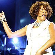 Bieder, aber nicht peinlich: Whitney Houston in der Wiener Stadthalle.