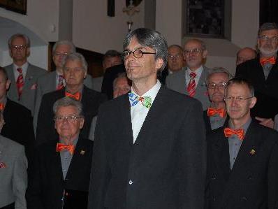 Chorleiter Mario Ploner