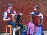 Christian und Ursula Klotz spielen beim Laguzer-Musighock erstmals auf.