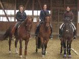 Das Schöne und das Wichtigste ist die richtige Kommunikation zwischen Reiter und Pferd.