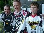 Das Siegertrio (von links): Alfred Hugl (3.), Dieter Reis (1.) und Sebastian Tschugmell (2.).