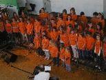 Davidino-Präsentation in Altach - über 180 Kinder sangen gemeinsam