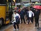 Den Europameister Spanien mal aus der Nähe zu sehen, war für viele Fans ein ganz besonderer Augenblick.