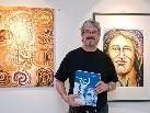 Der Götzner Künstler Rinaldo Loacker stellt zurzeit in Wien seine Werke aus