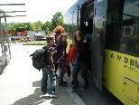 Der Landbus fährt wieder bis zum Gymnasium