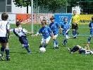 Der Nachwuchs bewies in der Fußacher Sportanlage Müß viel Freude am Fußballspiel.