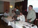 Der Vorstand des Vorarlberger Schafzuchtverbandes