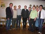 Der neu gewählte Ausschuss von Eichenberg Tourismus mit Obmann Hermann Gmeiner und Bürgermeister Alfons Rädler.