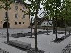 Die Arbeiten am Dorfplatz sind abgeschlossen.