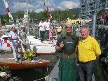 Die Bootstaufe beim Lochauer Yachtclub hat Tradition.