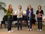 """Die Preisträger des Bundeswettbewerbs """"Prima la musica"""" sagen´s mit Musik."""