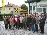 Die Raiffeisenbank lud ihre Ehrenmitglieder zu einem Ausflug in die Mohrenbrauerei.