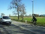 Die Senderstraße und ihre Gefahren für Radfahrer sorgen immer wieder für Diskussionsstoff.