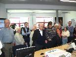 Die Senioren von Tschagguns besuchten das ORF Zentrum