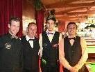 Die Sieger des Snooker Patricks Royal Classic in Rankweil.