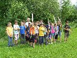 Die Sportgruppe der Volksschule Altach 4. Klasse