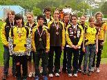 Die erfolgreichen Gisinger AthletInnen bei den VLV Titelkämpfen in Bludenz