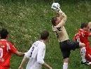 Egg-Goalie Fabian Fetz will in Bregenz sein Tor sauber halten.