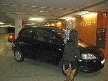Elfi Unterreiner hat ein sicheres Händchen für ihren VW Fox.