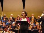 """Eva Oltiványi im """"Gloria"""" von Poulenc."""