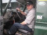 Für Freizeitausflüge nutzt Peter Schweiger gerne seinen Landrover