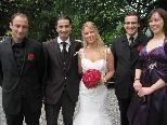 Glücklich im Hafen der Ehe gelandet Sonja Lasselsberger und Cemil Kaya