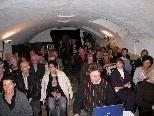 Groß ist das Interesse für die Veranstaltungen im Lochauer Kunstkeller.