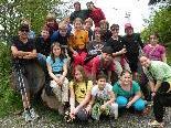 Gruppenbild der 1c-Klasse der MS Baumgarten