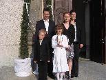 Im Rahmen der Lichterfeier für die Erstkommunion wurde am 24.4.2010 Kimberley von Diakon Toplek getauft. Mit ihr feierten die Eltern Barbara und René Nußbaumer, die Patin Jennifer Nußbaumer, ihr Bruder Dustin, Verwandte und alle Erstkommunionskinder.