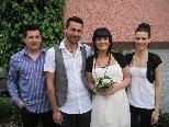 Jennifer Greiter und Marc Bereiter haben geheiratet